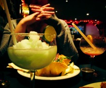 Mexican food and BIG Margeritas at 3 Amigos, Quartier Latin
