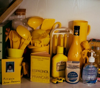 And yeah.. everything at Jeff's place is yellow... almost