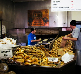Jeff took me to try out the city's best bagels