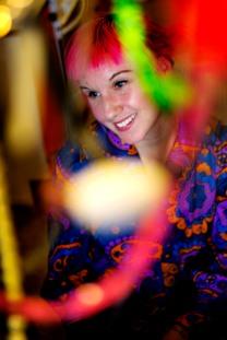 Lady Moe, Moa Wallin, fotat för Östermalmsnytt 2012